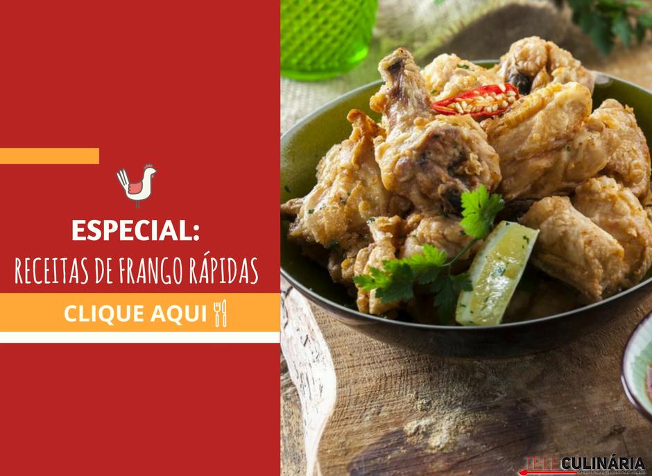 especial receitas de frango rapidas