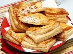 Folhadinhos de peixe picantes