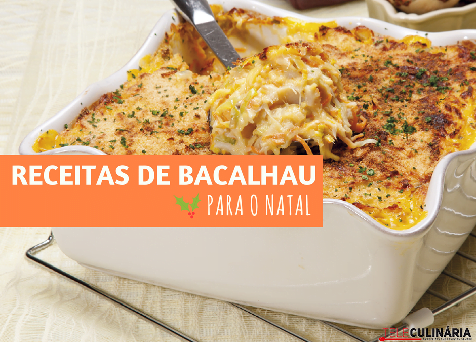 receitas de bacalhau para o natal