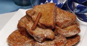 fatias douradas de pão caseiro