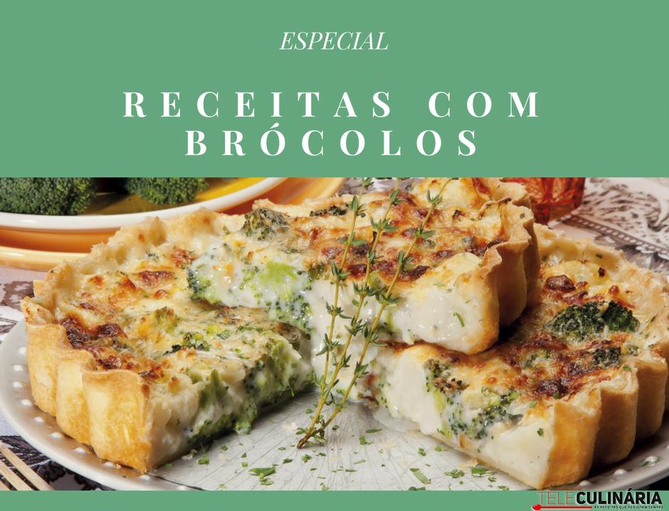 receitas com brócolos