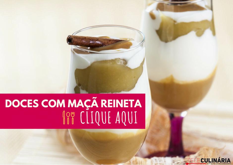 DOCES COM MAÇA REINETA 1