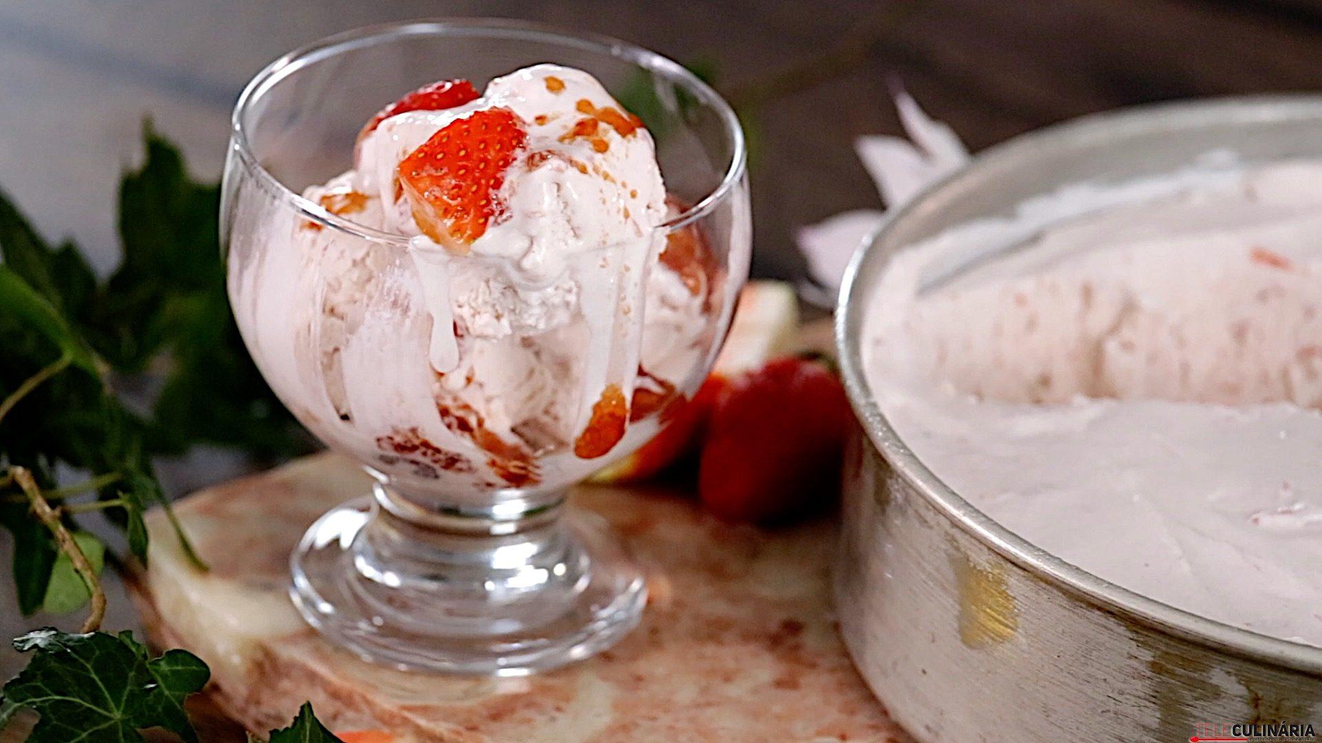 J0029 gelado de morango CHSB