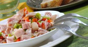 Salada de orelha com vinagrete