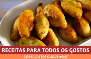 RECEITAS PARA TODOS OS GOSTOS