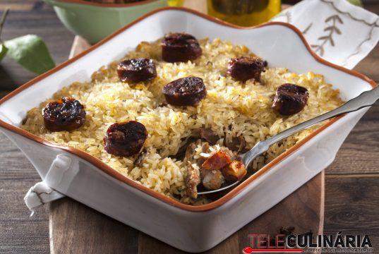 receita de arroz de pato