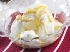 Farófias com creme de limão