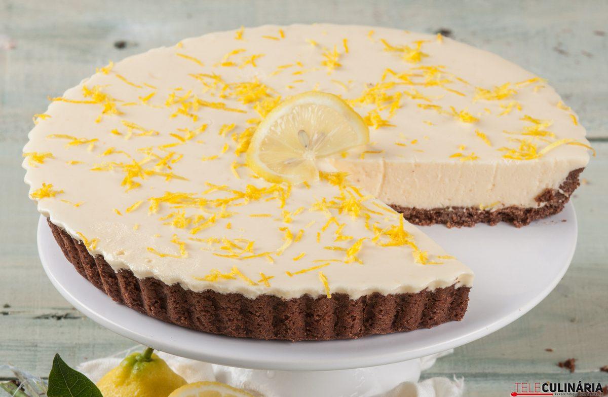 Receita de tarte de limão