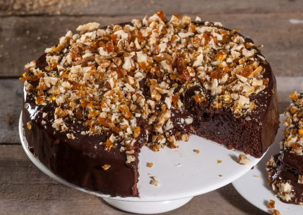 bolo classico de chocolate