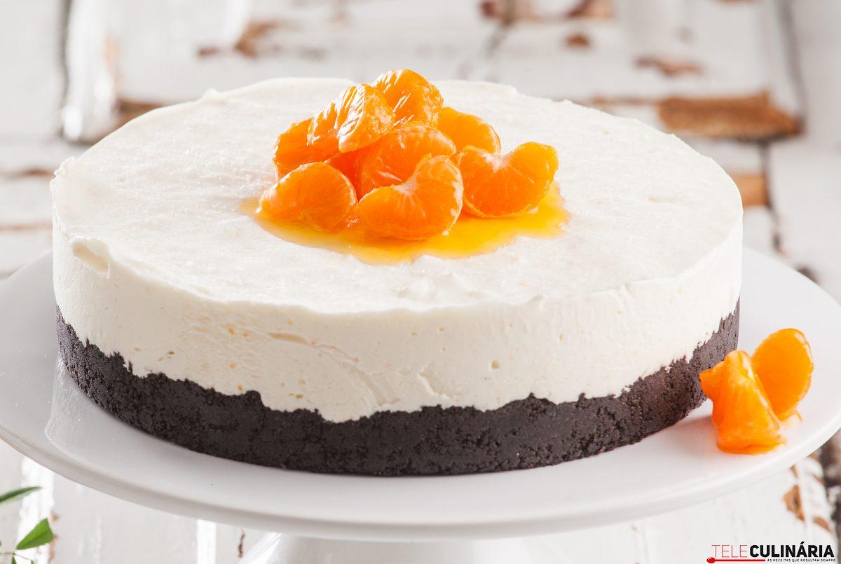 Receita de cheesecake de clementinas