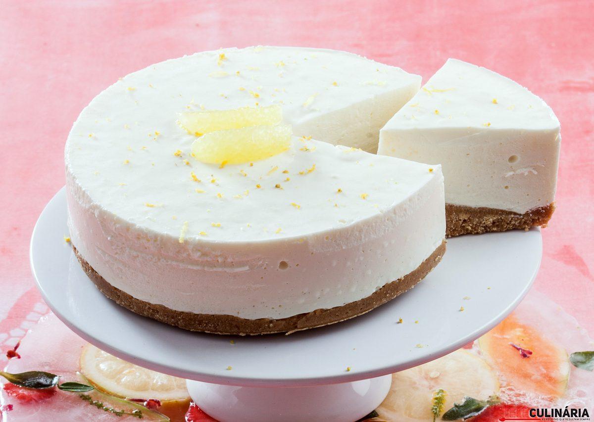 cheesecake de limao