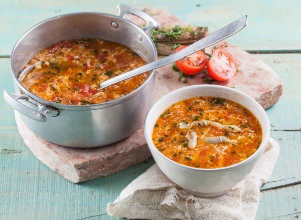 Sopa de lingueirão