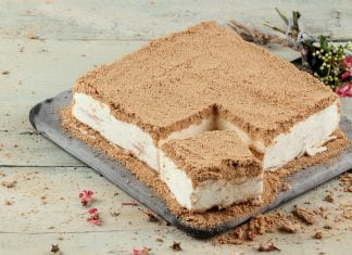 tarte gelada de bolacha