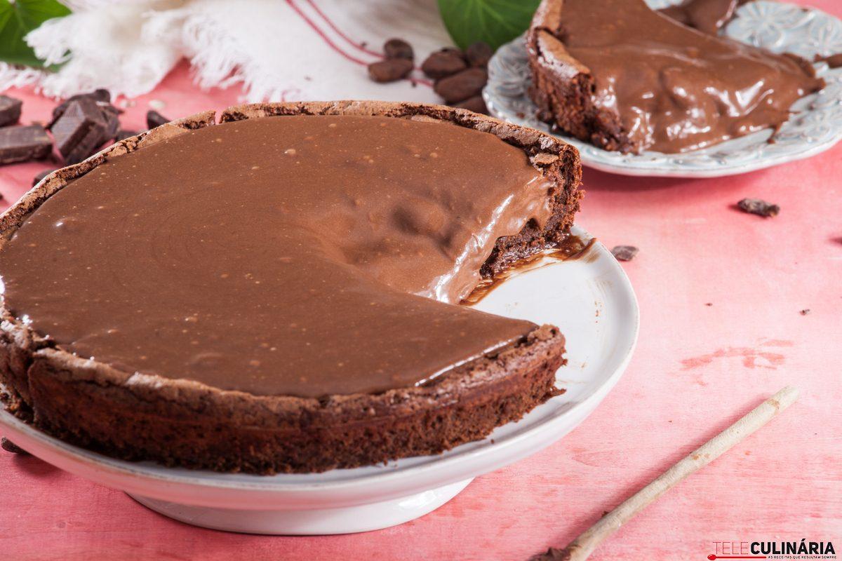 Receita De Bolo Mousse De Chocolate Teleculinaria