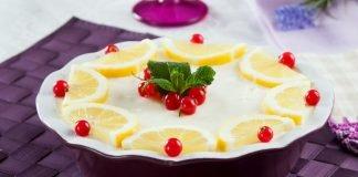 mousse de limao com iogurte grego