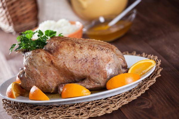 Receita de pato com laranja