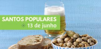santos populares 13 de junho