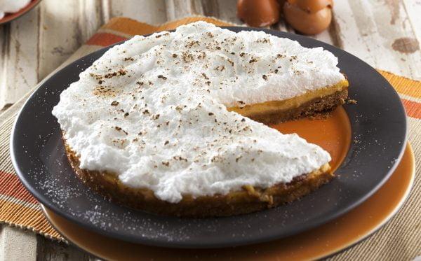 tarte de bolacha e claras
