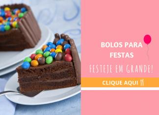 bolos para festas
