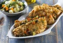 Filetes de peixe grenoblesa