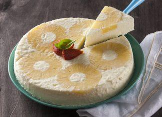 semifrio de ananás