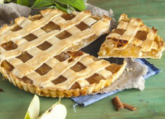 Tarte de maçã coberta