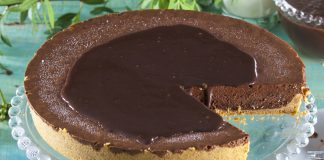 tarte mousse de chocolate