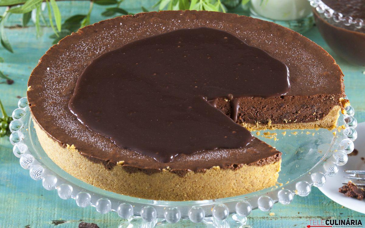 tarte mousse de chocolate