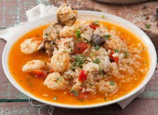 arroz de marisco da praia da vieira