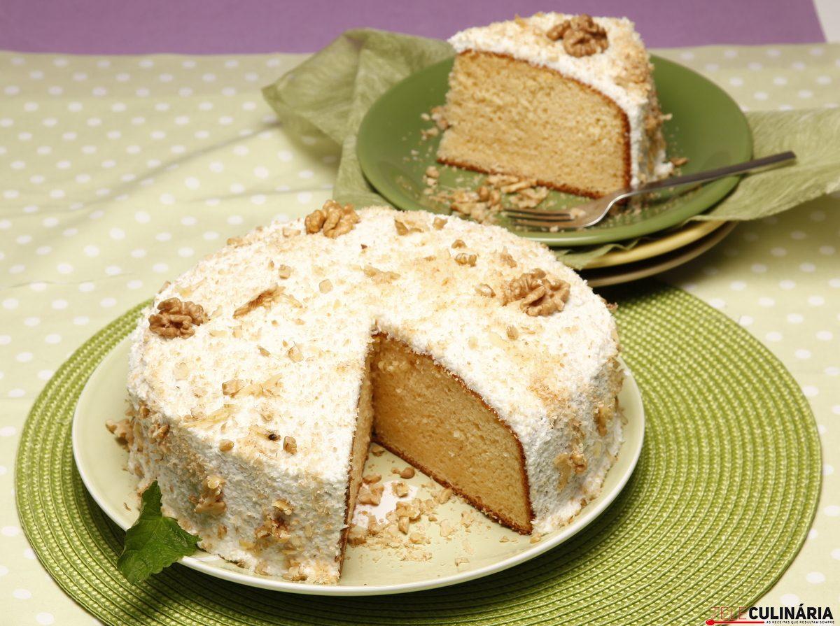 bolo de iogurte grego e coco