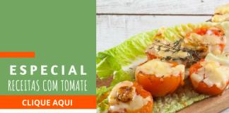 especial receitas com tomate
