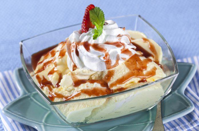 Sobremesa de verão