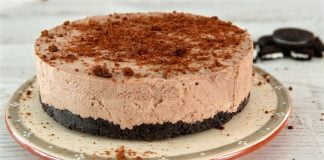 0529 Cheesecake cremoso de chocolate CHPS