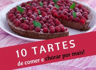 10 tartes de comer e chorar por mais