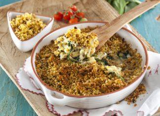 Receita de Bacalhau com Broa e Frutos Secos