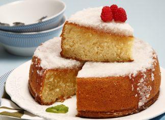 Receita de bolo cremoso de coco