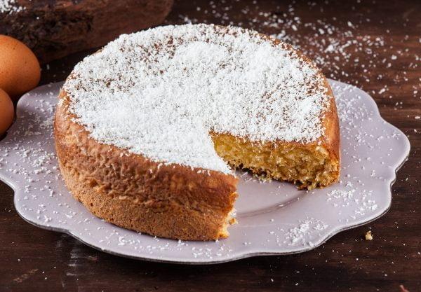 bolo de leite condensado sem farinha