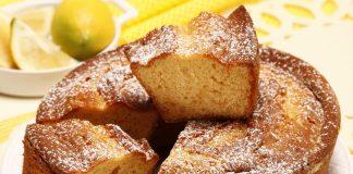 bolo de mel e limao