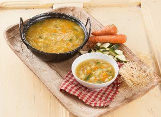 Receita de Sopa de Lentilhas