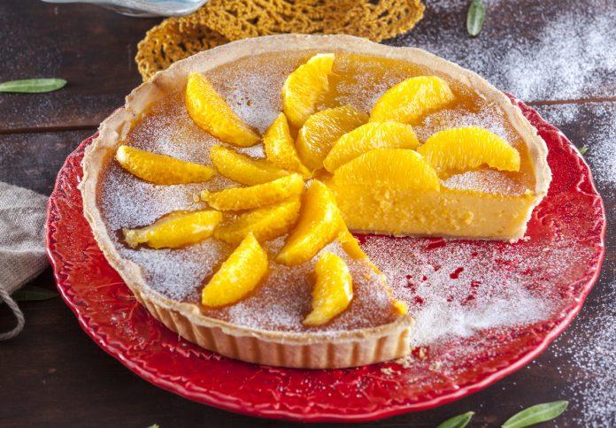 Receita de tarte de laranja