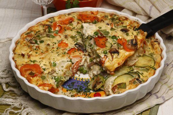tarte de legumes