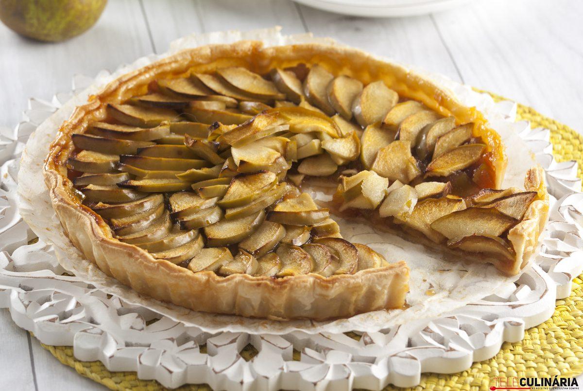tarte de maça rustica