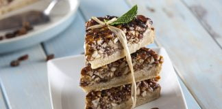 tarte de nozes crocantes