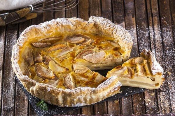 tarte de peras