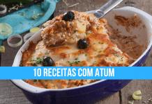10 receitas com atum