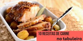 10 receitas de carne no tabuleiro