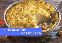 10 receitas de peixe no tabuleiro