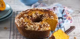 bolo de abobora e amendoa