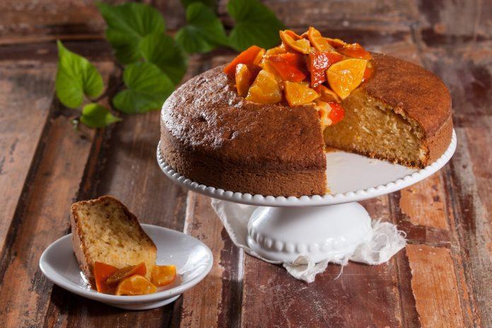 Receita de bolo de tangerina