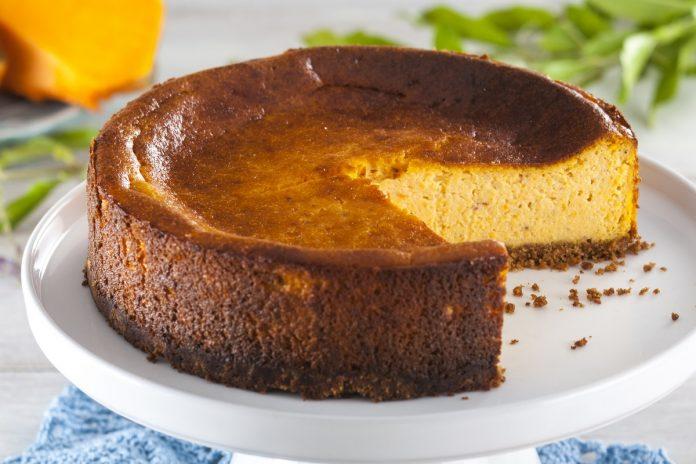 receita de cheesecake de abóbora